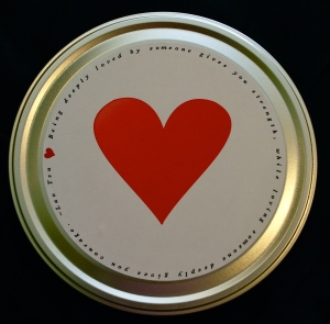 Valentine's Day/Love Popcorn Tin