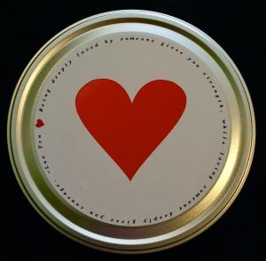Valentine's Day/Love Popcorn Tin